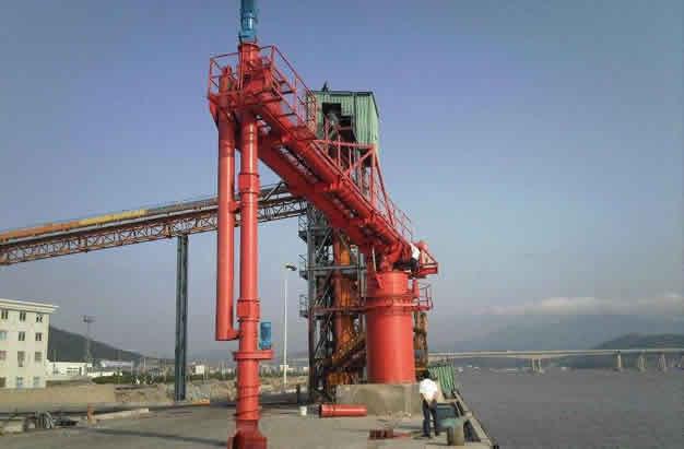 LC型螺旋卸船机